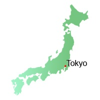 location, map, Japan